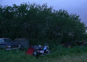 Il primo campeggio