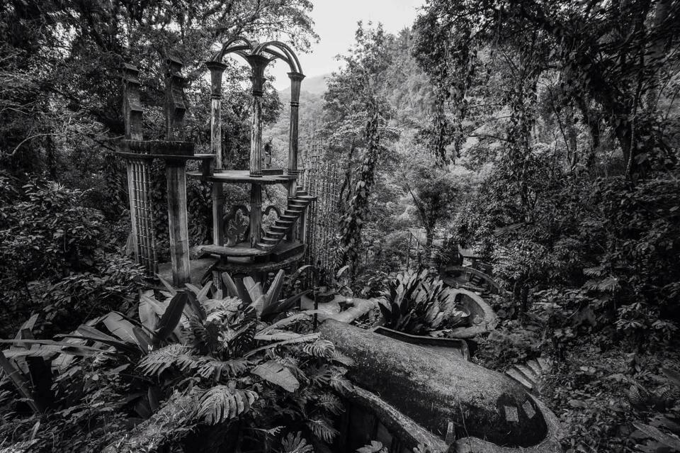 xilitla, surrealismo nella foresta