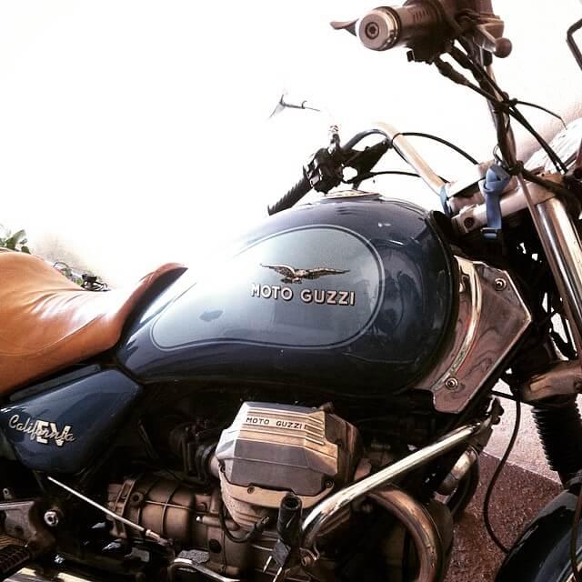 il ferro, motoguzzi california ev