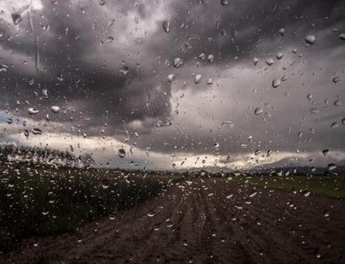 La pioggia laverà anche questo