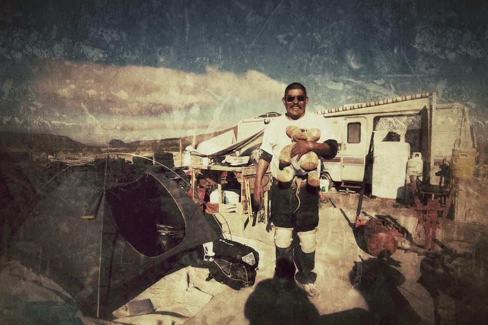 Incontri durante un viaggio in moto nei deserti della bassa california