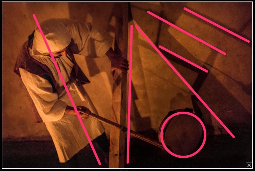 Regole di composizione e geometrie della foto