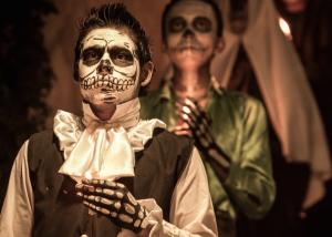 Il folclore dei morti in Messico