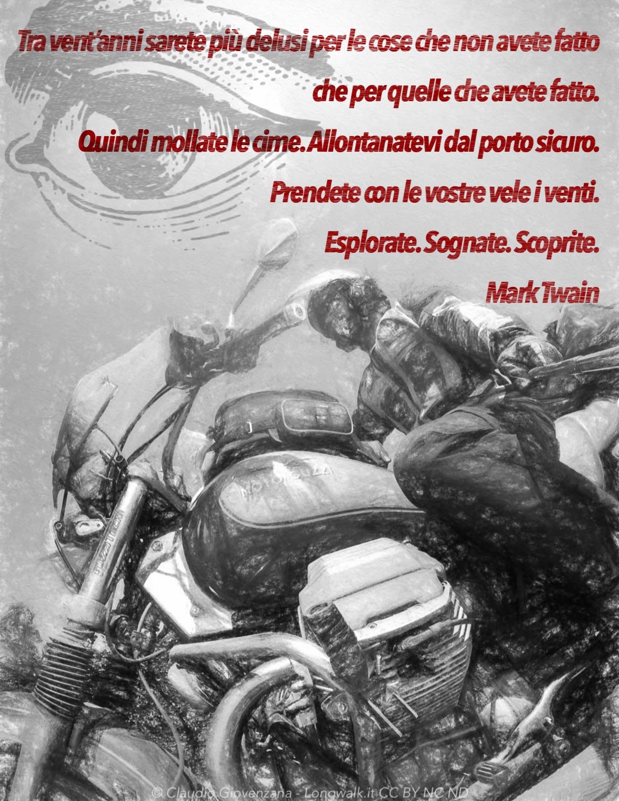 Guzzi Claudio Giovenzana Aforisma Mark Twain