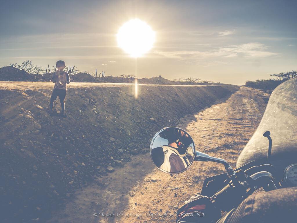 Viaggiare in moto o viaggiare PER la moto?