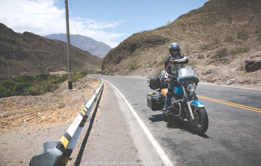 In guzzi sulla Sierra del Perù