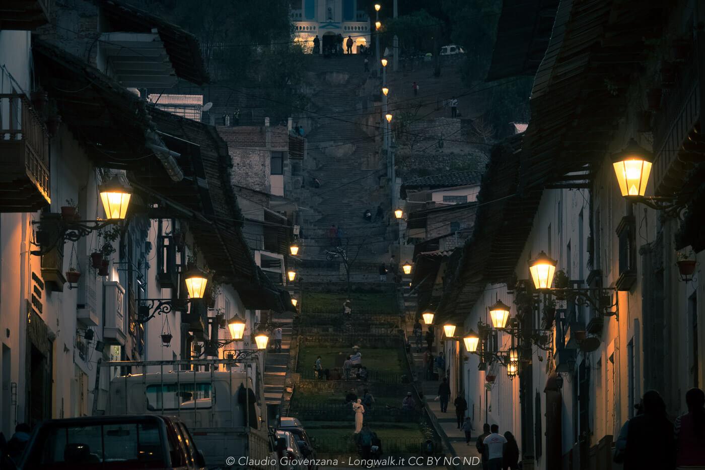 Cajamarca di notte