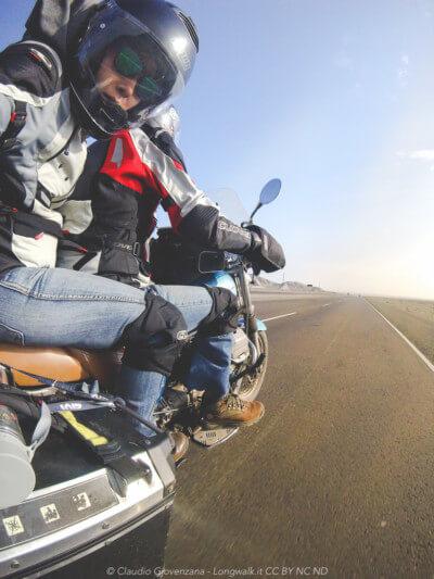 Viaggiando sulla costa del peru