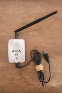 Lavorare online catturando il segnale con un antenna usb